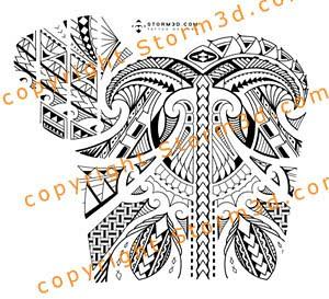 shoulder chest tattoos tribal maori images designer flickr. Black Bedroom Furniture Sets. Home Design Ideas