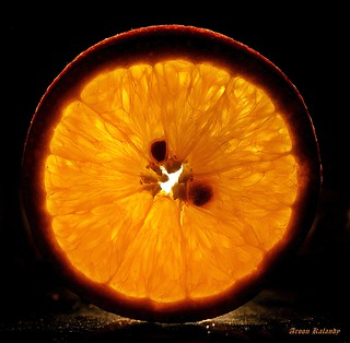 A slice of Orange....... | by aroon_kalandy