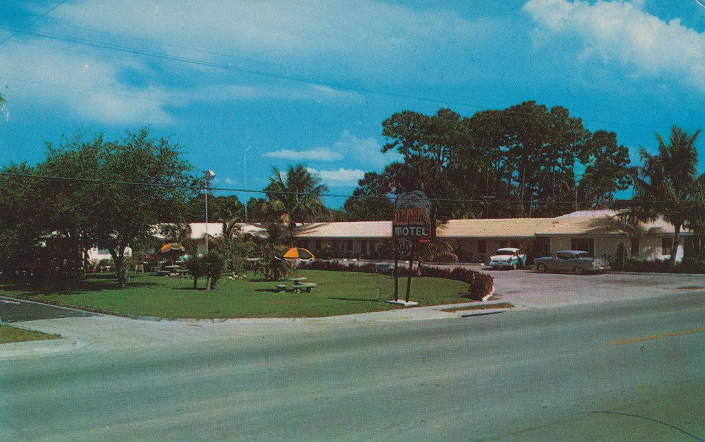 Dolphin Motel - Vero Beach, Florida