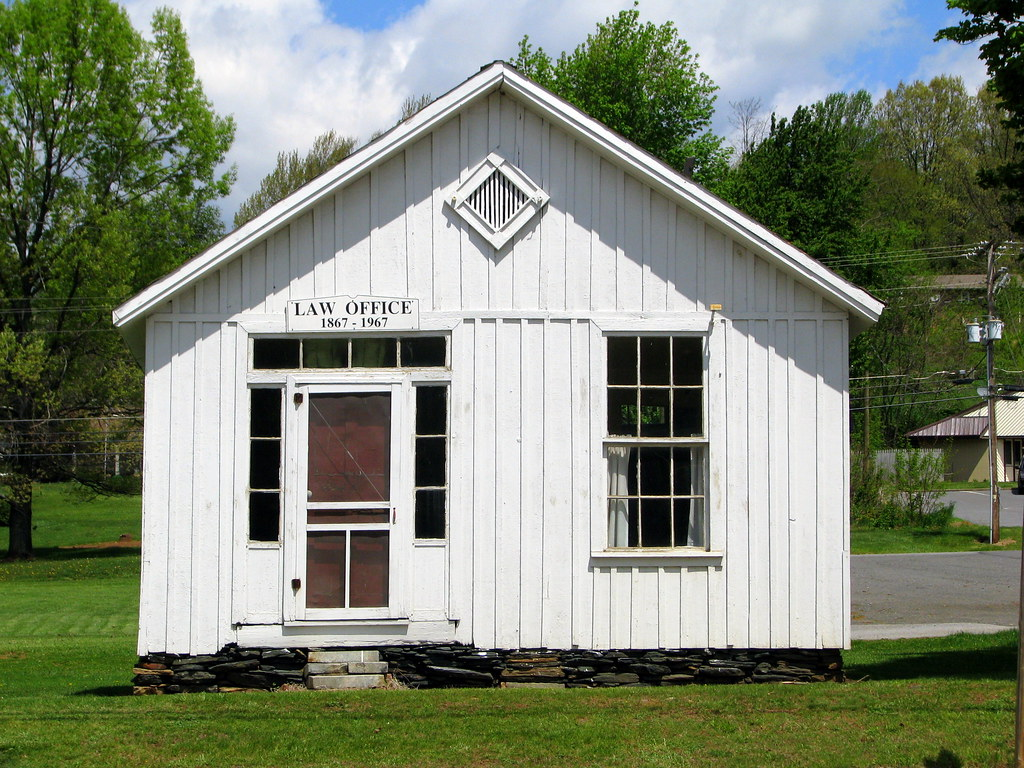 1867 Law Office - Jefferson, NC | located next door to the h… | Flickr