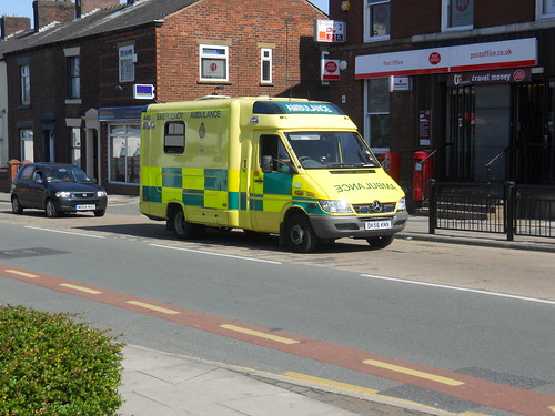 Sprinter Ambulance in Royton | by Gene Hunt