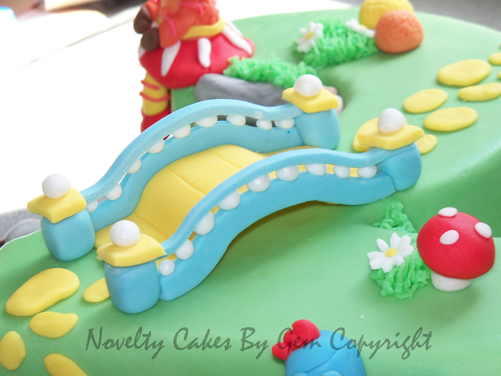 In the night Garden Bridge cake topper | Come find me on my … | Flickr