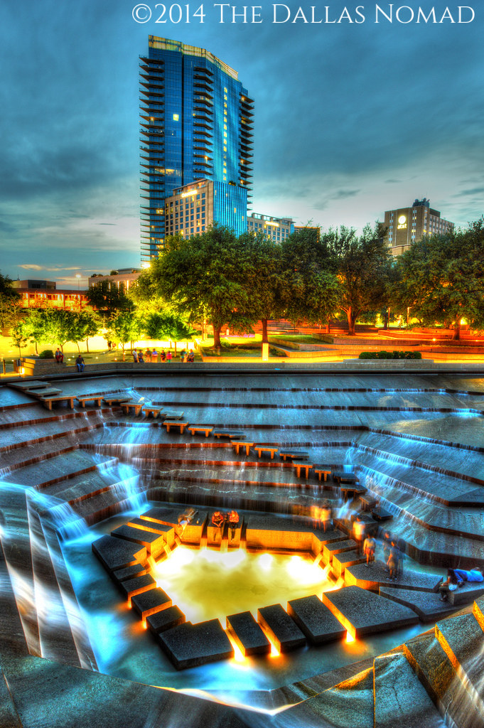 ... Fort Worth Water Gardens (2) | By The Dallas Nomad