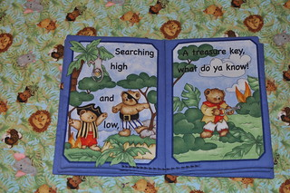 Treasure Bears Fabric Book | by pelennor