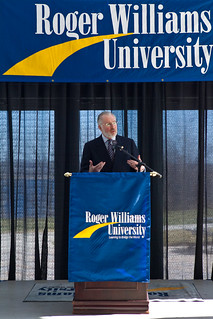 Dr. Donald J. Farish, president-elect Roger Williams University | by RWU Photos