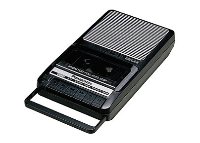 Old fashioned tape recorder 33