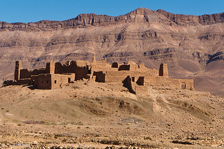 crumbled Kasbah - Draa Valley, Morocco | by Phil Marion