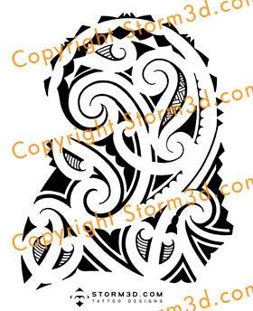 high resolution tattoo maori design shoulder mark storm flickr. Black Bedroom Furniture Sets. Home Design Ideas