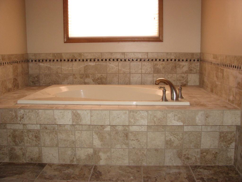 Ceramic Tile Tub Deck With Mosaic Border Marltonnj Flickr