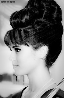 Matchless audrey hepburn french twist hairstyle