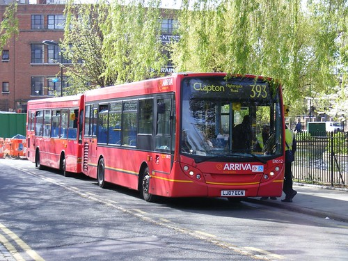 The 393 Route At Clapton Pond Following The Departure