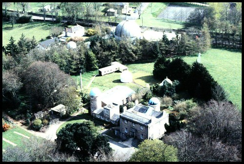 Armagh Observatory from air. | by John C McConnell F.R.A.S., F.B.I.M.S., I.M.C.A.