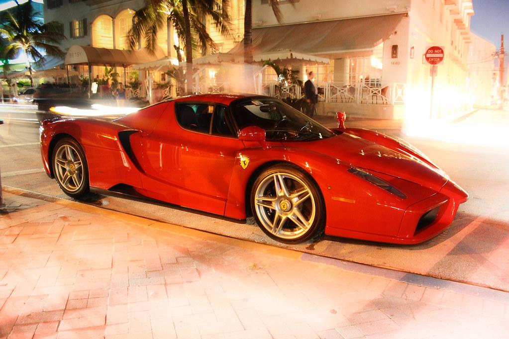 Ferrari Enzo Miami Beach Florida This Is The Fabulous E Flickr