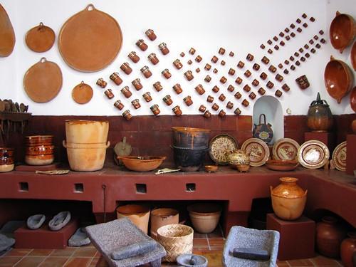Cocina tradicional mexicana museo de la ceramica en san - Ceramica san pedro ...