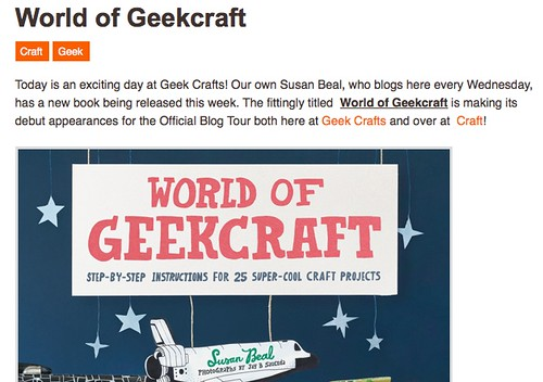 WOGC on Geek Crafts | by susanstars