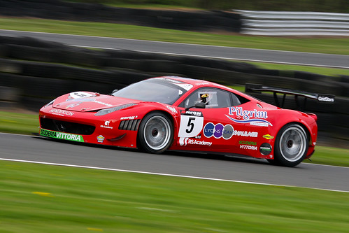 Ferrari 458 GT3 - Michael Lyons / Charles Bateman | by Richard Crawford Photography