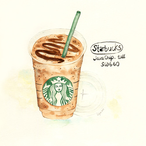 Java Chip Frappucino | by The Lily X