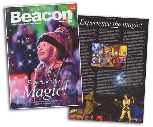 Beacon Magazine Cover - Experience the Magic @ Blackgang Chine | by s0ulsurfing