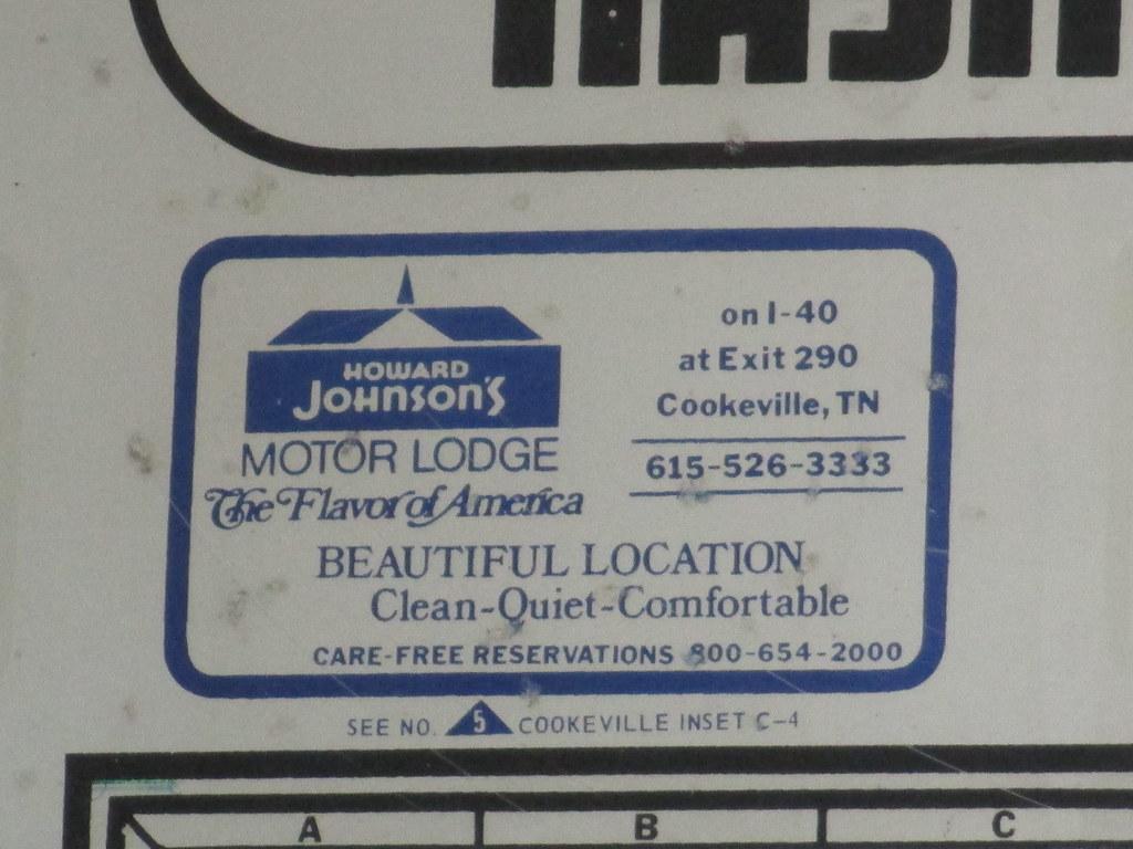 Howard Johnsons Motor Lodge And Restaurant Cookevilletn Flickr