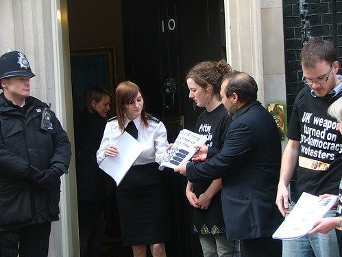 Downing street petition (5) | by Campaign Against Arms Trade