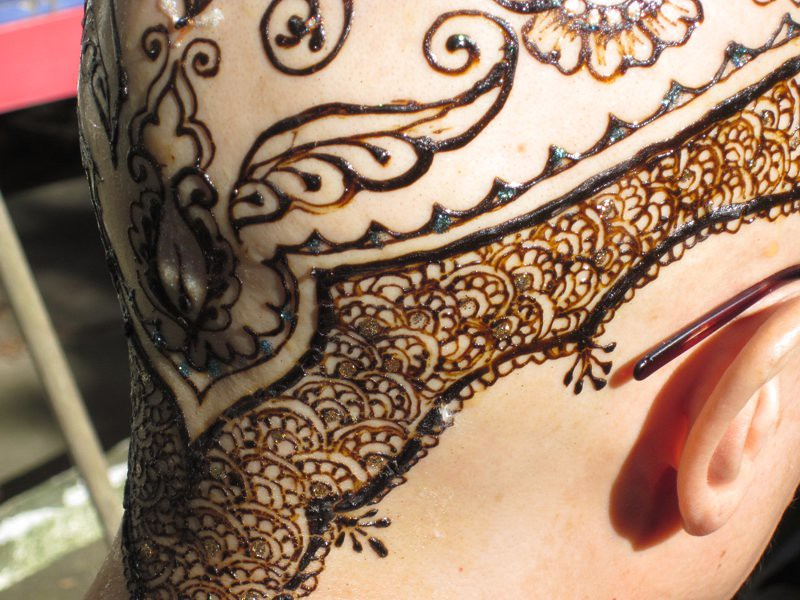Rebecca S Jeweled Henna Crown Beautiful Photos Taken Of Th Flickr