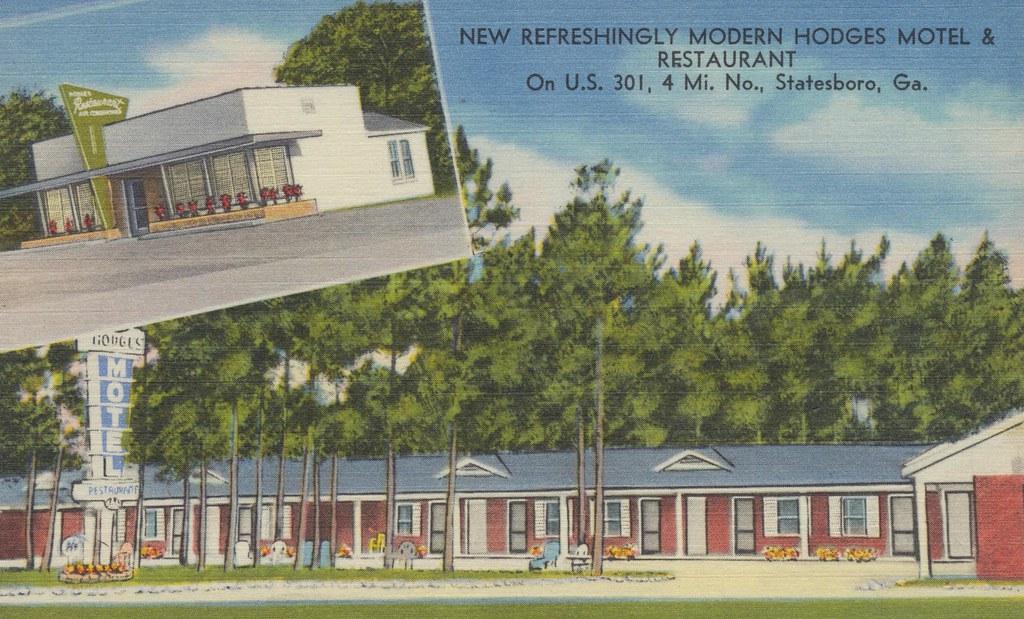 Hodges Motel - Statesboro, Georgia
