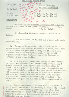 Reaction to meeting Yuri Gagarin | by The National Archives UK
