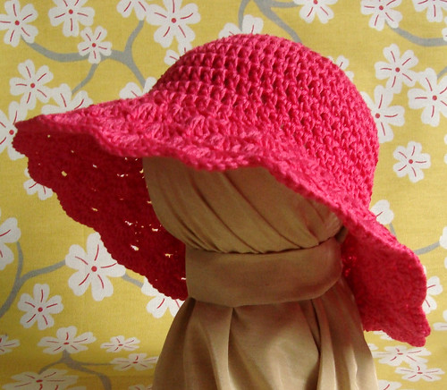 Hot Pink Sun Hat 3 | by luv_maxine_15611