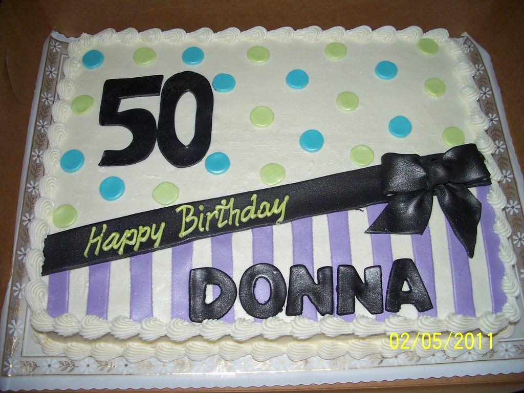 50th Birthday Sheet Cake Annie Hall Flickr