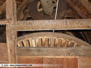Outwood Post Mill - Rear Wheel & Sack Haull | by Outwood Windmill
