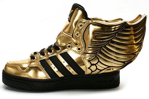 Adidas X Jeremy Scott Teddy Bear Shoes
