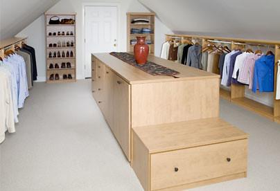 ... A Custom Closet Above The Garage | By Closet OS Chicago