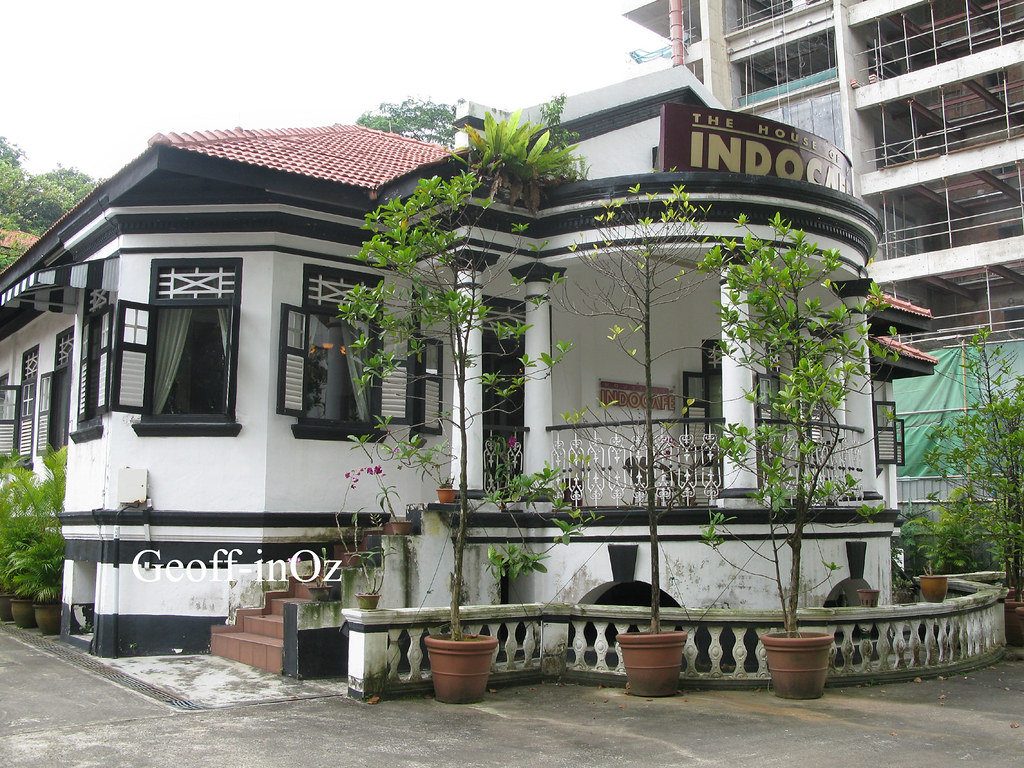 Singapores Black And White Houses