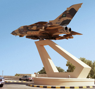 RSAF Gate Guardian Panavia Tornado IDS 765 - Dhahran, Saudi Arabia | by Tony Withers photography