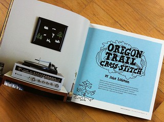 Oregon Trail Cross-Stitch by John Lohman | by susanstars