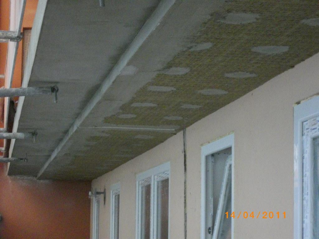 Balkon Dammung Bei Dieser Baumassname Sanierung Wird Die Flickr