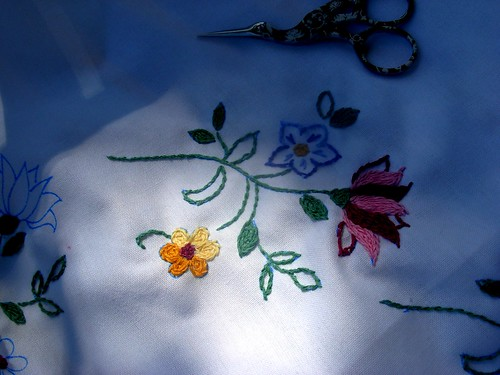 tablecloth embroidery | by april-mo
