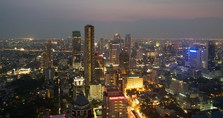 Bangkok skyline by night | by RomainPa