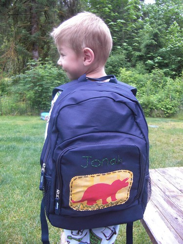 jonah backpack | by The Barefoot Seamstress