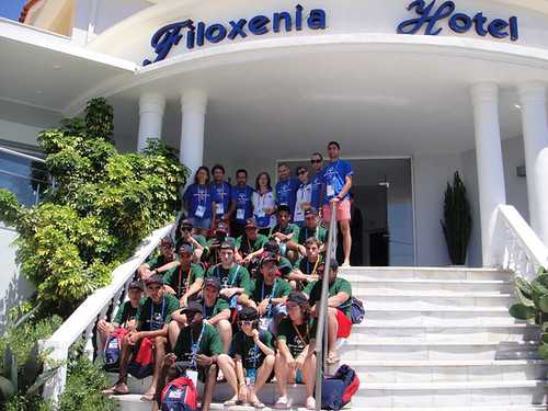 Our Special Olympic friends at Filoxenia hotel Zakynthos | by dianahotels