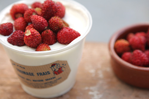 fraises n fromage blanc | by David Lebovitz