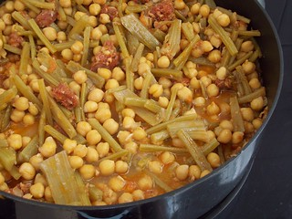 Garbanzos con tagarnina | by lasrecetasdecadadia