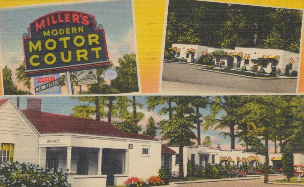 Miller's Modern Motor Court - Alexandria, Virginia