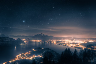 ~ Lake Lucerne and Orion * | by dmkdmkdmk