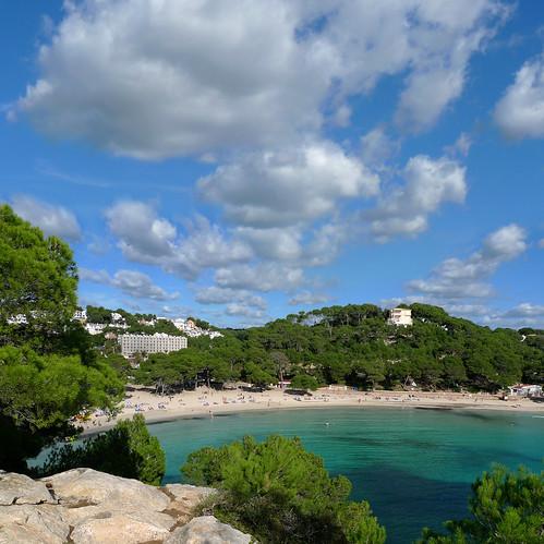 Cala galdana 39 s beautiful gently shelving white sand beach flickr - Beautiful photoshelves ...
