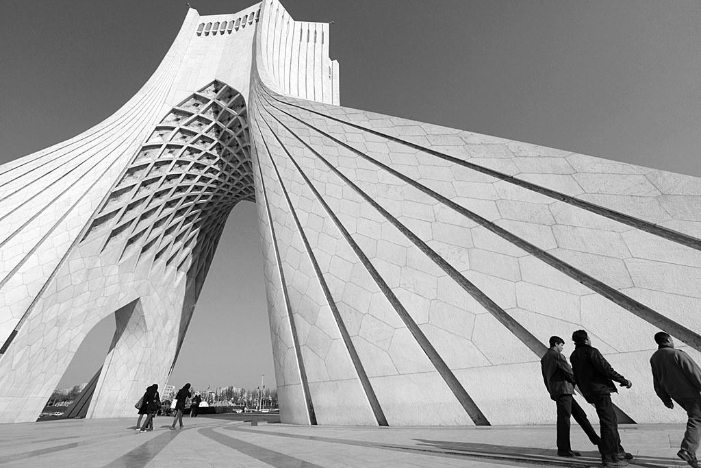 ... Azadi Tower In Tehran, Iran | By Mooon2