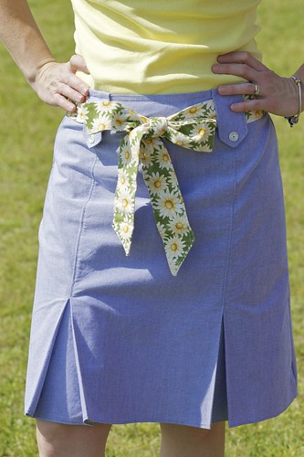 Close up, New Skirt Simplicity 2211 | by Sew Spoiled