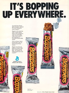 General Mills - Peanut Butter Boppers - trade ad - July 1986 | by JasonLiebig