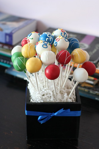 Google Cake Pop Display | by Sweet Lauren Cakes