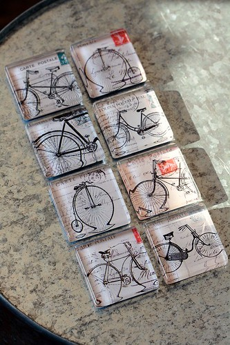 bicycle magnets | by ola smith